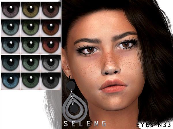 Eyes N33 by Seleng at TSR image 202 Sims 4 Updates