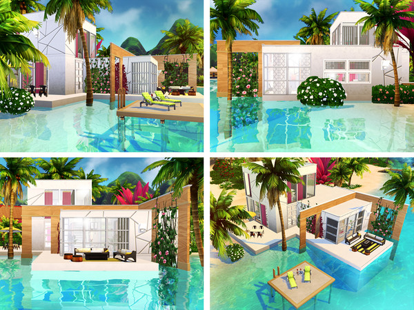 Scarlet house by Rirann at TSR image 2028 Sims 4 Updates
