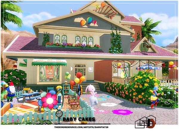 Sims 4 Baby CAKES by Danuta720 at TSR
