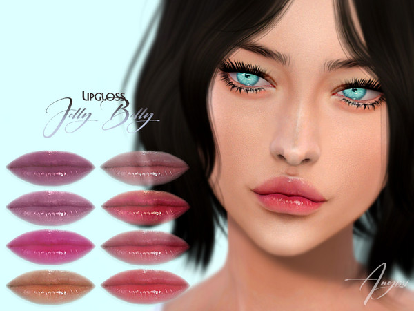 JELLY BELLY LIPGLOSS by ANGISSI at TSR image 2118 Sims 4 Updates
