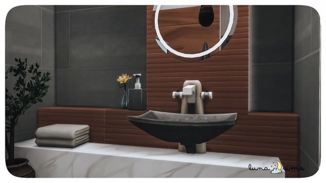 Sims 4 MODERN HOUSE COLLAB W/ MULENA at Luna Sims