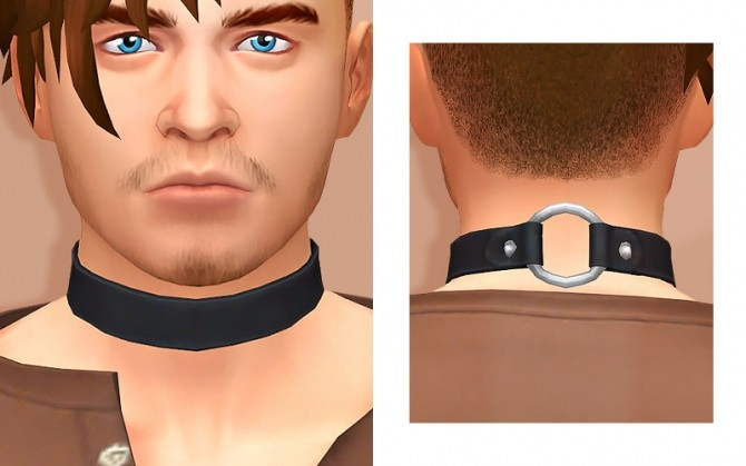 Simplified GP08 Magic Choker for Male at Tamo image 2133 670x419 Sims 4 Updates