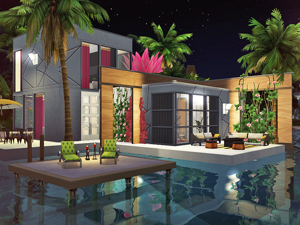 Scarlet house by Rirann at TSR image 2135 Sims 4 Updates