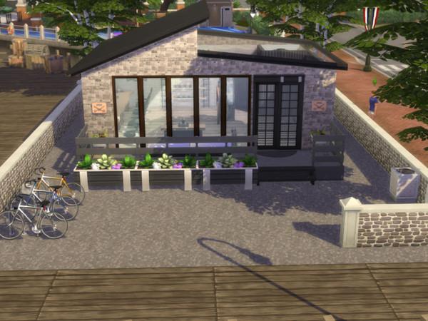 Sims 4 Tommys Barber Shop by MrsJulie at TSR