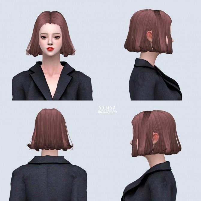 Sims 4 Hair 03 Daisy Without Bang at Marigold
