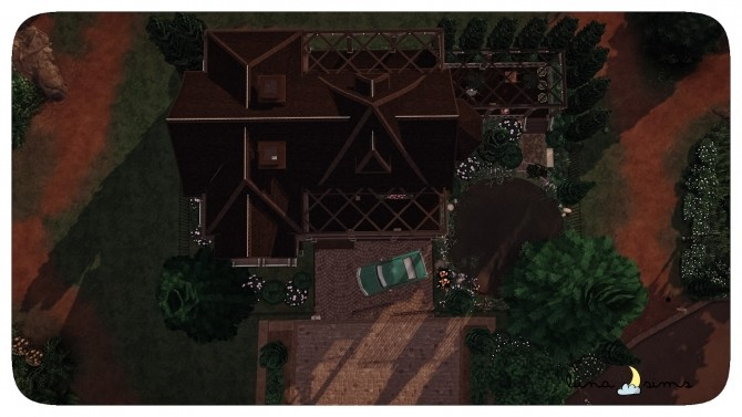 Sims 4 GLIMMERBROOK WITCH MANSION at Luna Sims