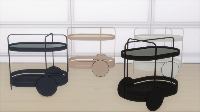 Sims 4 GRACE TROLLEY at Meinkatz Creations
