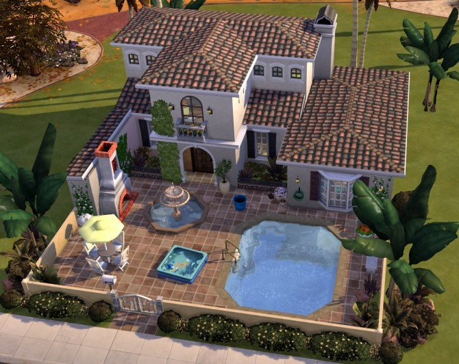 Colorful casa at Fab Flubs image 2194 670x532 Sims 4 Updates