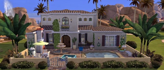 Colorful casa at Fab Flubs image 2204 670x287 Sims 4 Updates