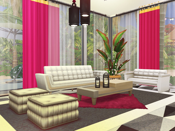 Scarlet house by Rirann at TSR image 2229 Sims 4 Updates