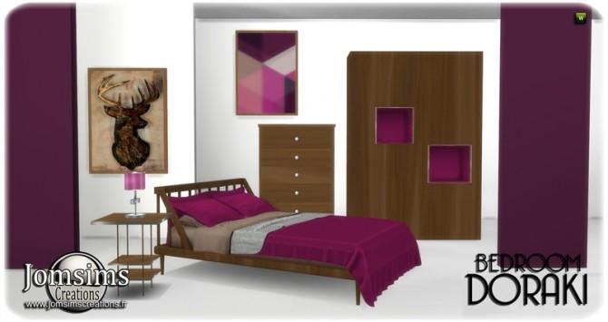 Doraki bedroom at Jomsims Creations image 2311 670x355 Sims 4 Updates