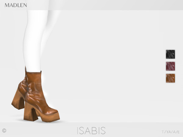 Madlen Isabis Boots by MJ95 at TSR image 2316 Sims 4 Updates