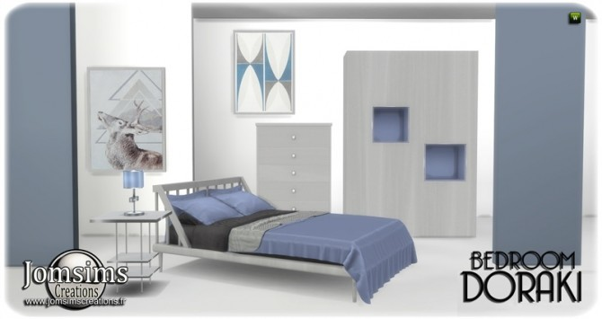 Doraki bedroom at Jomsims Creations image 2321 670x355 Sims 4 Updates