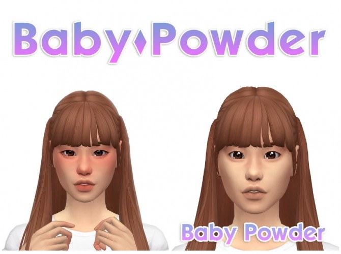 Baby powder facemask at Simandy image 2322 670x500 Sims 4 Updates