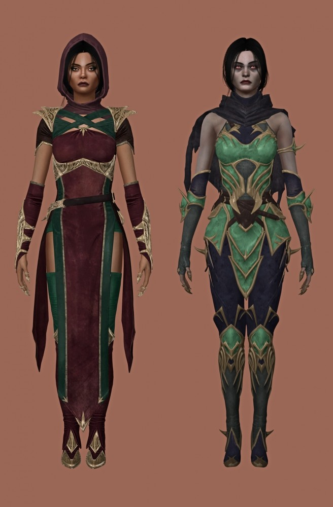 Jade Outfits & Accessories at Astya96 image 2333 656x1000 Sims 4 Updates
