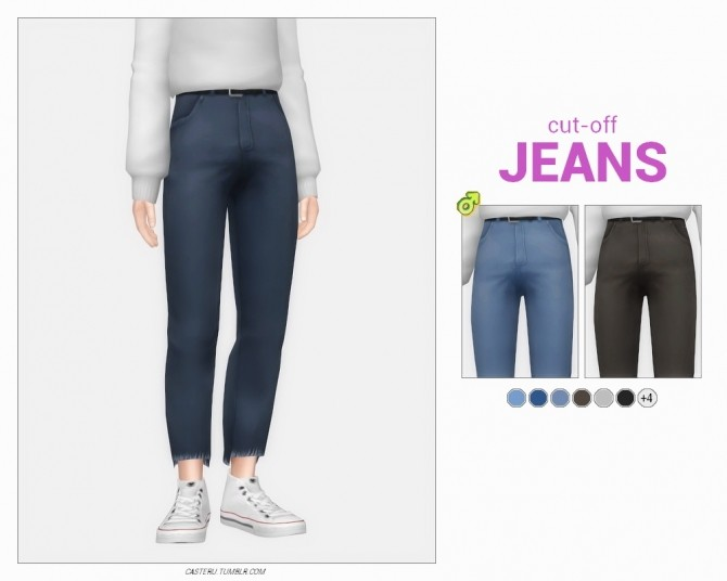 Harness & cut off jeans at Casteru image 2341 670x536 Sims 4 Updates