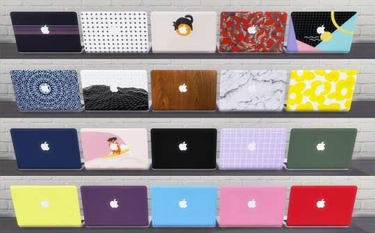 Functional MacBook Pro 2019 with cases at Descargas Sims image 2371 Sims 4 Updates