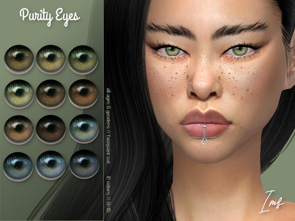 IMF Purity Eyes N.115 by IzzieMcFire at TSR image 2412 Sims 4 Updates