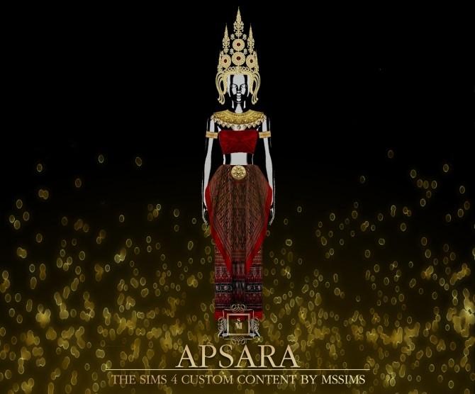 Sims 4 APSARA SET (P) at MSSIMS