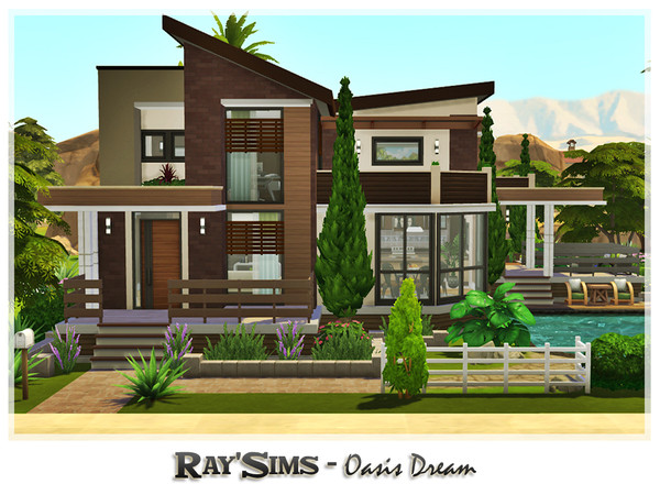Oasis Dream house by Ray Sims at TSR image 247 Sims 4 Updates
