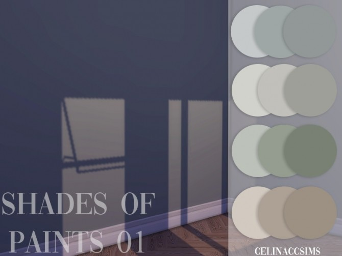 Shades of paint 01 at Celinaccsims image 2502 670x503 Sims 4 Updates