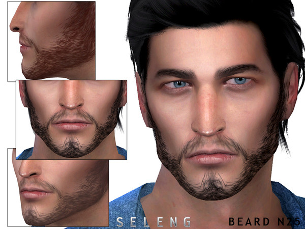 Beard N25 by Seleng at TSR image 2514 Sims 4 Updates
