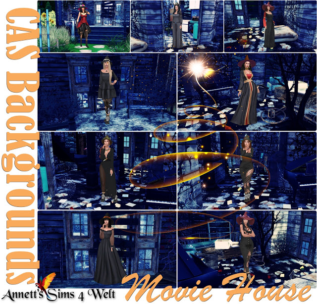 CAS Backgrounds Movie House at Annett's Sims 4 Welt image 2531 Sims 4 Updates