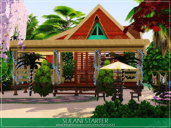 Sulani Starter by MychQQQ at TSR image 257 Sims 4 Updates