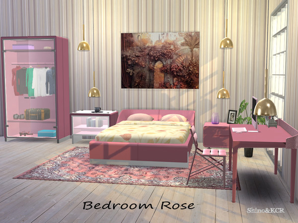 Bedroom Rose by ShinoKCR at TSR image 2614 Sims 4 Updates