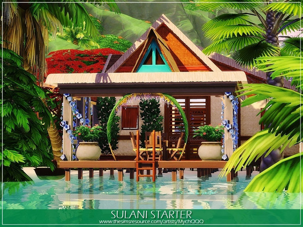 Sulani Starter by MychQQQ at TSR image 267 Sims 4 Updates