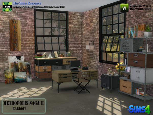 Metropolis Saga II studio by kardofe at TSR image 268 Sims 4 Updates