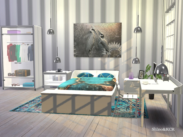 Bedroom Rose by ShinoKCR at TSR image 2714 Sims 4 Updates
