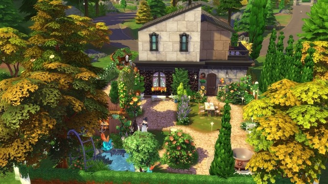 Dahlia house by Angerouge at Studio Sims Creation image 2721 670x377 Sims 4 Updates