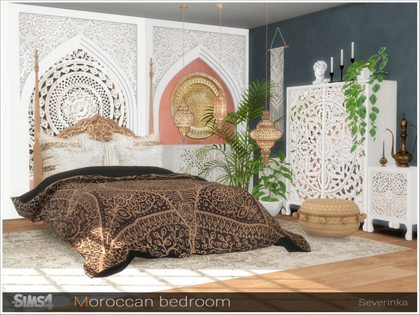 Moroccan bedroom by Severinka at TSR image 273 Sims 4 Updates
