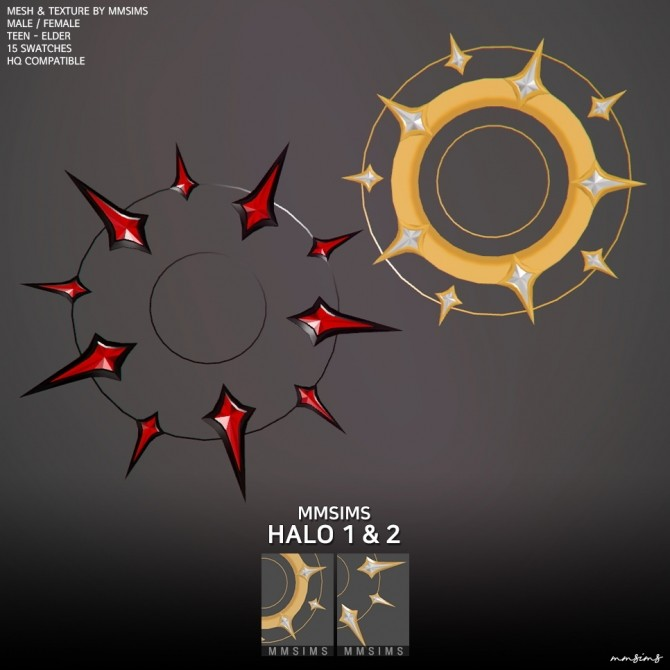 Sims 4 Halo 1&2 at MMSIMS