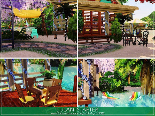 Sulani Starter by MychQQQ at TSR image 277 Sims 4 Updates