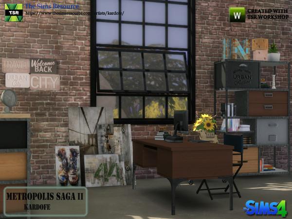 Metropolis Saga II studio by kardofe at TSR image 278 Sims 4 Updates