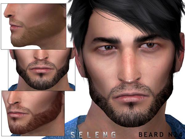 Beard N24 by Seleng at TSR image 2813 Sims 4 Updates