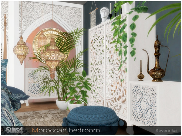 Moroccan bedroom by Severinka at TSR image 283 Sims 4 Updates