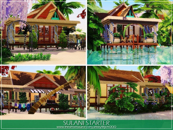 Sulani Starter by MychQQQ at TSR image 287 Sims 4 Updates