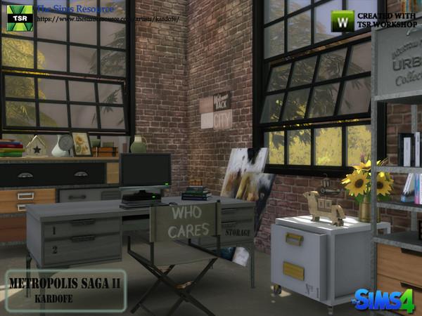 Metropolis Saga II studio by kardofe at TSR image 288 Sims 4 Updates