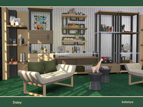 Daisy livingroom by soloriya at TSR image 29 Sims 4 Updates