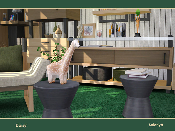 Daisy livingroom by soloriya at TSR image 30 Sims 4 Updates