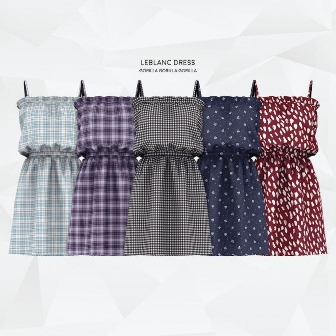 Leblanc Dress at Gorilla image 3021 670x670 Sims 4 Updates