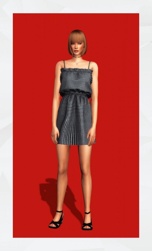 Leblanc Dress at Gorilla image 3041 606x1000 Sims 4 Updates