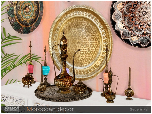 Moroccan decor by Severinka at TSR image 305 Sims 4 Updates