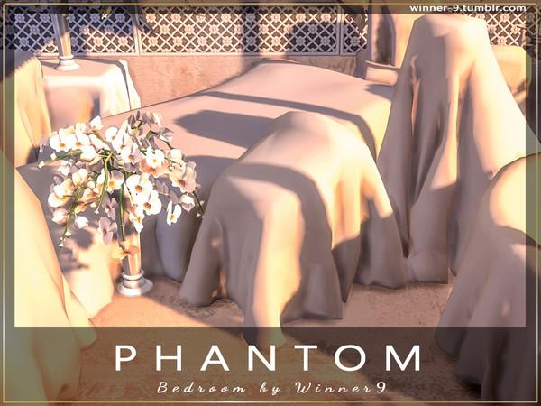 Sims 4 Phantom Bedroom by Winner9 at TSR