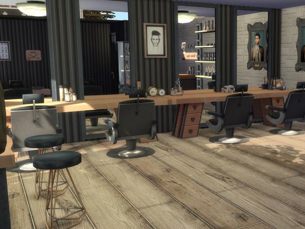 Tommys Barber Shop by MrsJulie at TSR image 314 Sims 4 Updates