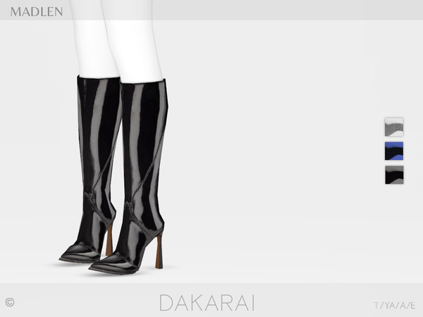 Madlen Dakarai Boots by MJ95 at TSR image 3216 Sims 4 Updates