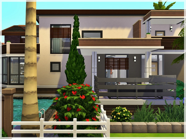 Oasis Dream house by Ray Sims at TSR image 327 Sims 4 Updates
